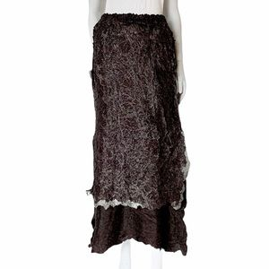 Issey Miyake Long skirt
